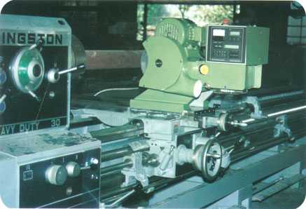 Roll Crown Grinding Attachment For Conventional Lathe
